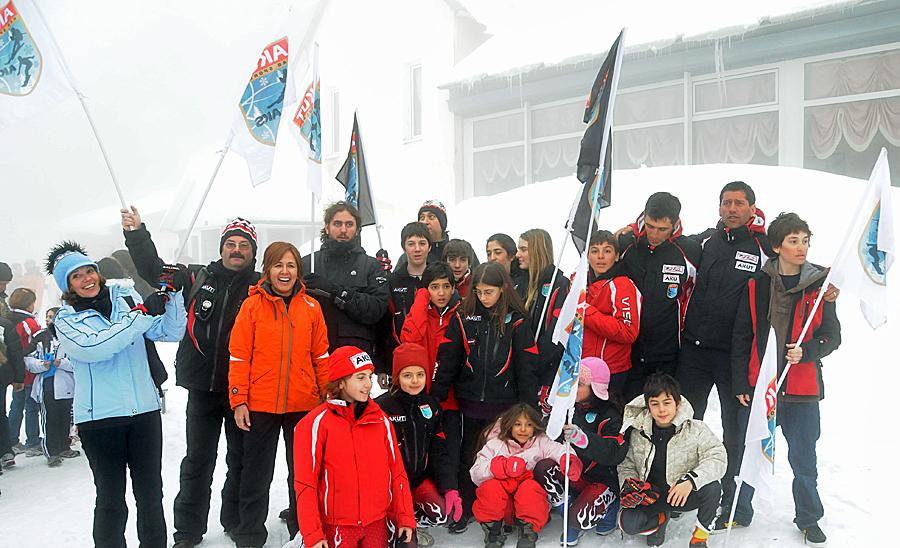 Türkiye Kayak Şampiyonası AKUT Çocuk Takımı